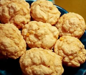 corn masa muffins